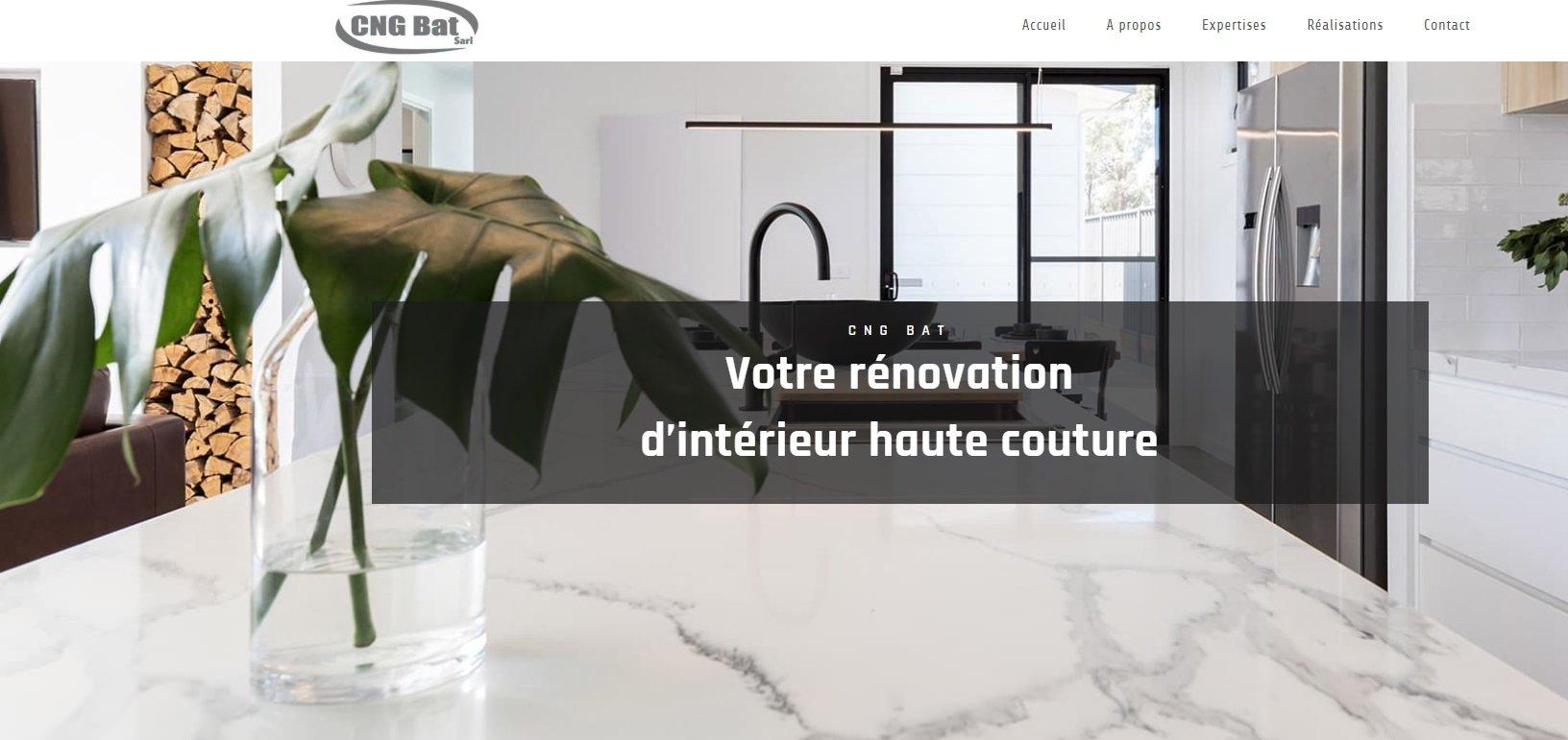 CNG BAT Rénovation bâtiment haute couture
